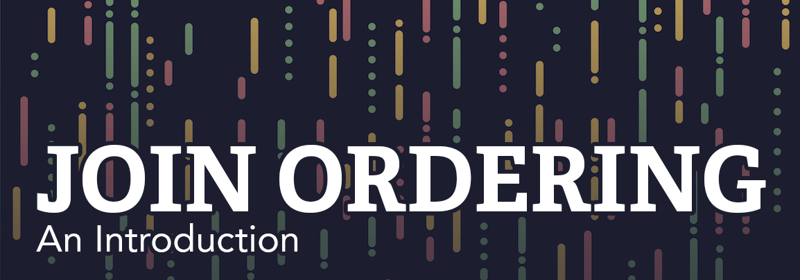 An Introduction To Join Ordering