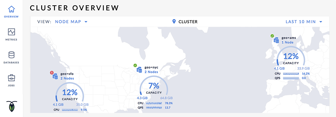 Cluster Visualization: Getting Started With A Globally Distributed Database